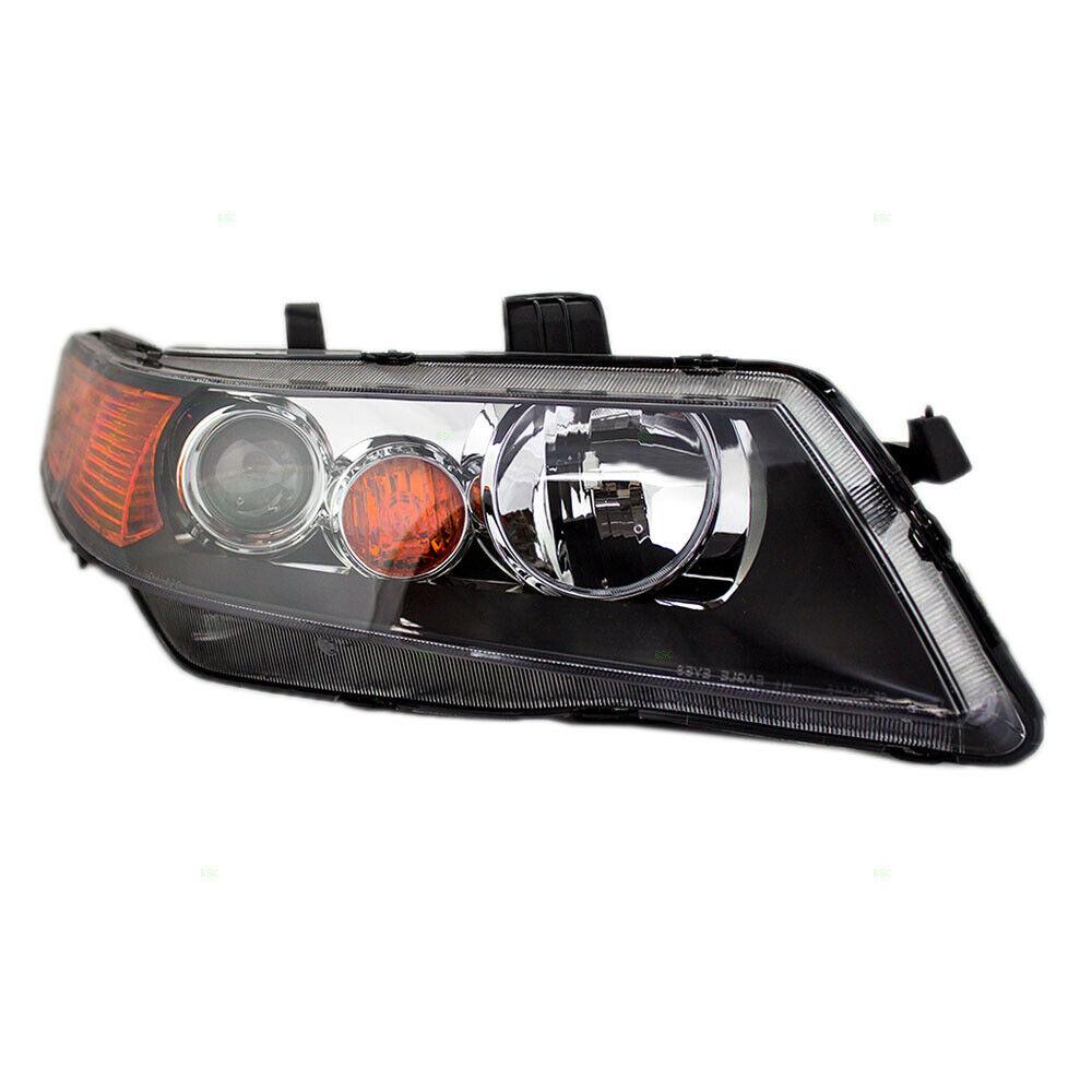 New Passengers HID Headlight Headlamp Lens W/ Black