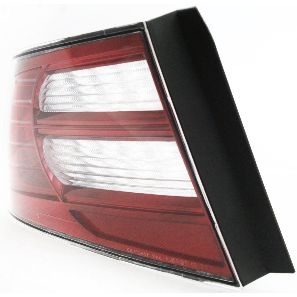 Halogen Tail Light For 2007-2008 Acura TL Base Model Left