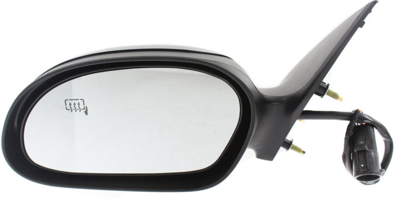 NEW LEFT DOOR MIRROR FITS FORD TAURUS 2000-2007 POWER HEATED NO PUDDLE LIGHT