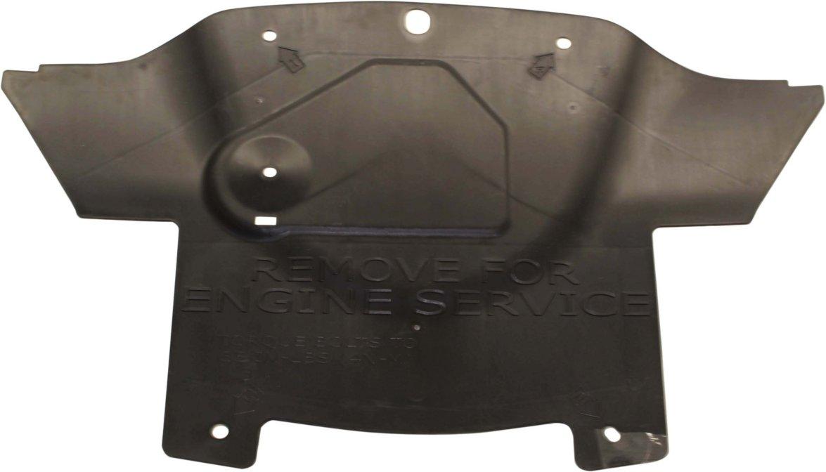 Engine Splash Shield Plastic Engine Under Cover Center compatible with Pontiac Vibe
