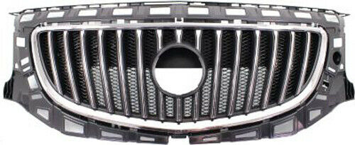NEW GRILLE CHROME AND BLACK MADE OF PLASTIC FOR BUICK REGAL GM1200653