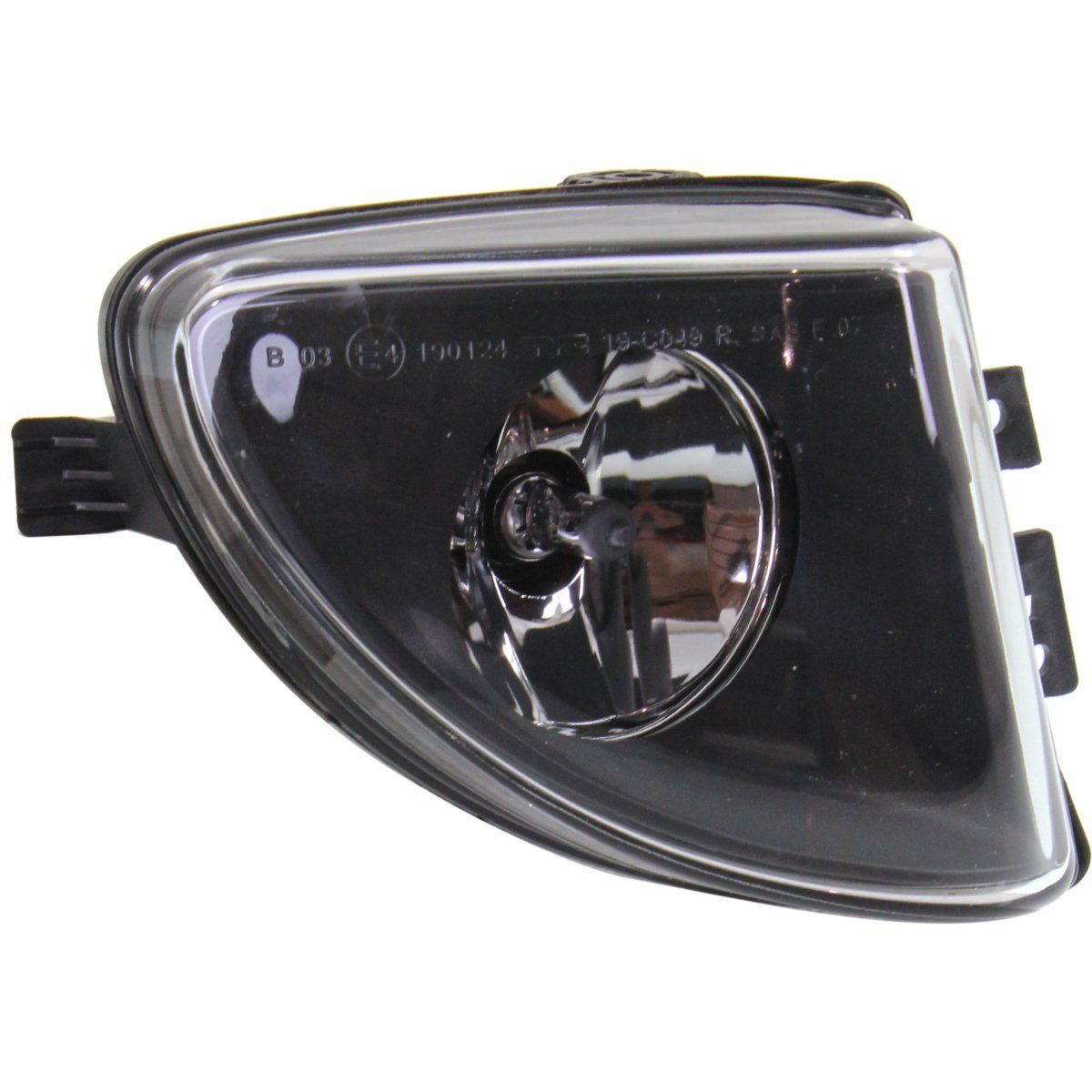 Set of 2 Clear Lens Fog Light For 2008-10 BMW 528i LH /& RH Without Bulbs