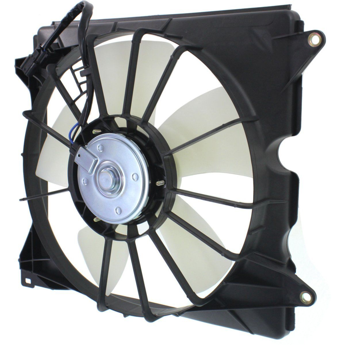 Left Side Denso Radiator Cooling Fan 2.4L, 4 Cylinder for 13-17 Honda Accord